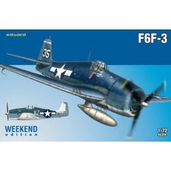 Caza naval F6F-3. Escala 1:72. Weekend. Marca Eduard Ref: 7441.