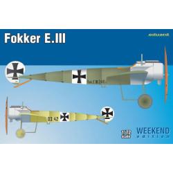 Fokker E. III. Serie Weekend. Escala 1:72. Marca Eduard. Ref: 7444.