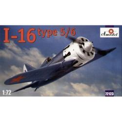 Polikarpov I-16 type 5/ I-16 type 6. Escala 1:72. Marca Amodel. Ref: 72123.