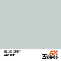 Acrílicos de 3rd Generación, BLUE GREY – STANDARD. Bote 17 ml. Marca Ak-Interactive. Ref: Ak11011.