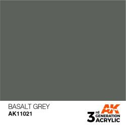 Acrílicos de 3rd Generación, BASALT GREY– STANDARD. Bote 17 ml. Marca Ak-Interactive. Ref: Ak11021.