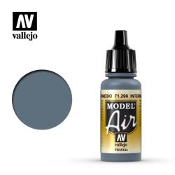 Acrilico Model air, Azul Intermedio. Bote 17 ml. Marca Vallejo. Ref: 71.299.