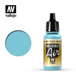 Acrilico Model air, AII SV. Gol Azul Claro. Bote 17 ml. Marca Vallejo. Ref: 71.317.