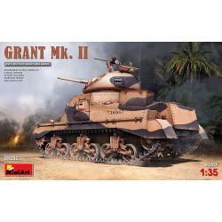 Grant Mk. II. Escala 1:35. Marca Miniart. Ref: 35282.