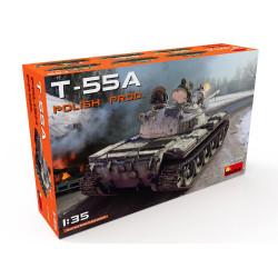 T-55A POLISH PRODUCTION. Escala 1:35. Marca Miniart. Ref: 35090.