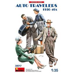 AUTO TRAVELERS 1930-40S. Escala 1:35. Marca Miniart. Ref: 38017.
