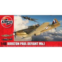 Caza Boulton Paul Defiant MkI. Escala 1:48 Marca Airfix. Ref: A05128A.