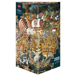 Trafalgar. Puzzle Vertical, 2000 pz. Marca Heye. Ref: 29795.