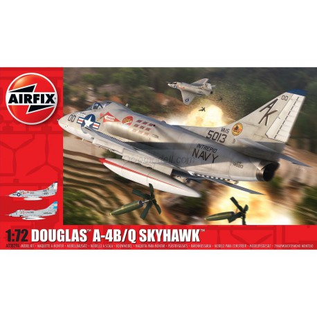 Avión Douglas A-4B / Q Skyhawk. Escala 1:72. Marca Airfix. Ref: A03029A.