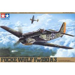 Focke-Wulf Fw190 A-3. Escala 1:48. Marca Tamiya. Ref: 61037.