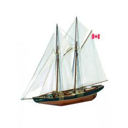 Goleta de Pesca Canadiense Bluenose II, 1964. Escala 1:75. Marca Artesanía Latina. Ref: 22453.
