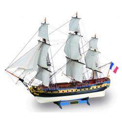 Fragata Lafayette Hermione. Escala 1:89. Marca Artesanía Latina. Ref: 22517.