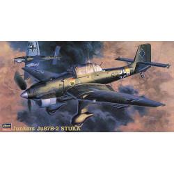 Junkers Ju87B-2 Stuka. Escala 1:48. Marca Hasegawa. Ref: 09113.