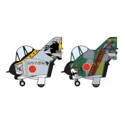 EGG-Plane F4 Phantom II, 301Sq y 501Sq Año final 2020. 2 kits. Marca Hasegawa. Ref: 60519.