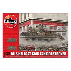 M-18 Hellcat. Escala 1:35. Marca Airfix. Ref: A1371.
