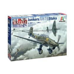 Junkers JU-87B Stuka. Escala 1:48. Marca Italeri. Ref: 2807.