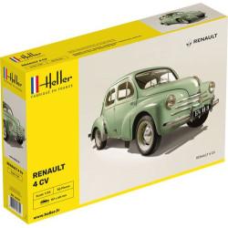 Renault 4CV. Escala 1:24. Marca Heller. Ref: 80762.