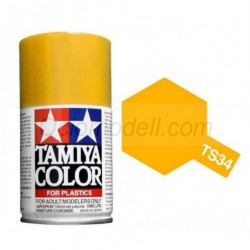 Spray Base white, Blanco base (85101). Bote 100 ml. Marca Tamiya. Ref: TS-101.