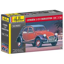 Citroën 2CV. Escala 1:24. Marca Heller. Ref: 80766.