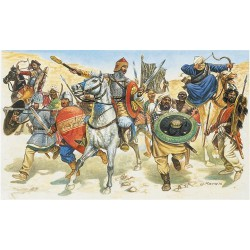 Guerreros Sarracenos S. XI. Escala 1:72. Marca Italeri. Ref: 6010.