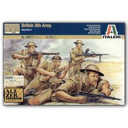 British 8th Army. Escala 1:72. Marca Italeri. Ref: 6077.