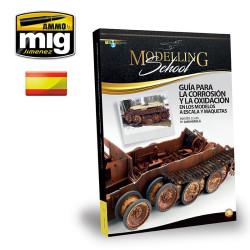 Modelling School, GUÍA PARA LA CORROSIÓN Y LA OXIDACIÓN, ( Castellano ). Marca Ammo Mig. Ref: A.MIG6099.
