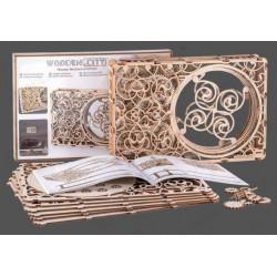 Cuadro Mecánico, madera contrachapada, Kit de montaje. Marca Wooden City. Ref: 57311.
