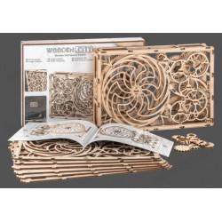 Cuadro Cinético, madera contrachapada, Kit de montaje. Marca Wooden City. Ref: 57308.