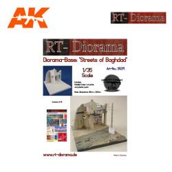 "Diorama-Base: ""Streets of Baghdad"". Escala 1:35. Marca RT-DIORAMAS. Ref: 35271."