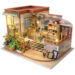 Miniature Dollhouse, House Room Box Theatre Toys. Marca Diy House. Ref: S02A.