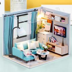 Miniature Dollhouse, Cornet Salón. Marca Diy House. Ref: H18A.