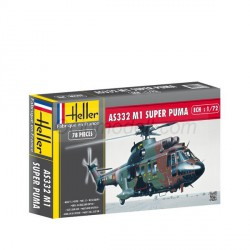 Super Puma AS 332 M1. Escala 1:72. Marca Heller. Ref: 80367.