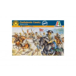 Caballería Confederada, Guerra civil Americana. Escala 1:72. Marca Italeri. Ref: 6011.