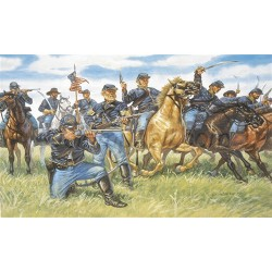 Caballería de la Unión, Guerra civil Americana. Escala 1:72. Marca Italeri. Ref: 6013.