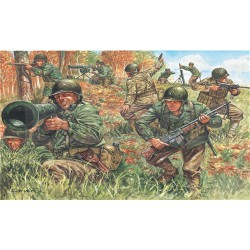 Infanteria Americana, WWII. Escala 1:72. Marca Italeri. Ref: 6046.