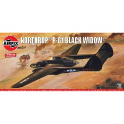 Northrop P-61 Black Widow. Escala 1:72. Marca Airfix. Ref: A04006V.