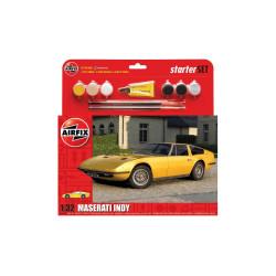 Set Maserati Indy, Starter. Escala 1:32. Marca Airfix. Ref: A55309.