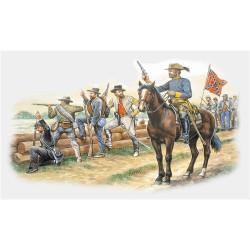 Tropas Confederadas. Escala 1:72. Marca Italeri. Ref: 6014.