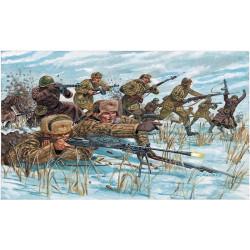 Infanteria Rusa, uniforme de Invierno. Escala 1:72. Marca Italeri. Ref: 6069.