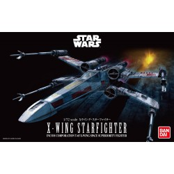 Caza estelar X-Wing. Escala 1:72. Marca revell-Bandai. Ref: 01200.