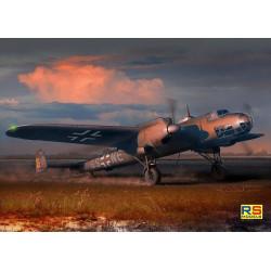 Dornier 17 F 4. Escala 1:72. Marca RSmodels. Ref: 92072.