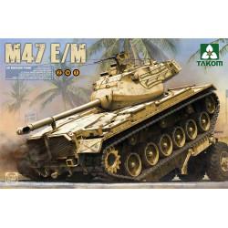Carro medio M47 E/M, Ejército español. Escala 1:35. Marca Takom. Ref: 2072.