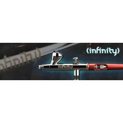 AEROGRAFO INFINITY 2 en 1 - (0.15 + 0.4mm). Marca Harder & Steenbeck. Ref: 136543.