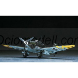 "Junkers Ju87G-2 Stuka ""TANK ATTACKER"". Escala 1:48. Marca Hasegawa. Ref: 09054."