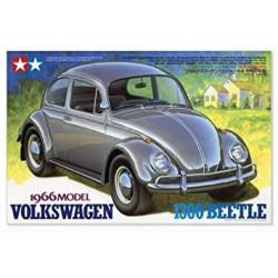 Vehículo 1966 Volkswagen 1300 Beetle. Escala 1:24. MarcaTamiya. Ref: 24136.