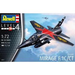Dassault Mirage F.1C/CT. Escala 1:72. Marca Revell. Ref: 04971.