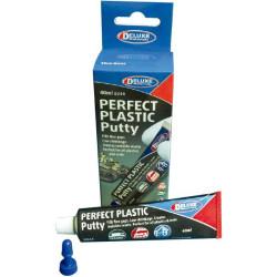 Masilla plástica,  Deluxe Perfect Plastic Putty. Contiene 40 ml. Marca Deluxe. Ref: BD44.
