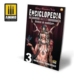 Enciclopedia TEC. M. FIGURAS VOL. 3, MODELADO, GÉNEROS Y TÉCNICAS ESPECIALES. Marca Ammo Mig. Ref: AMIG6233.