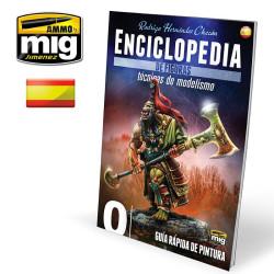 Enciclopedia TEC. M. FIGURAS VOL. 0, MODELADO, Guia Rápida Pintura. Marca Ammo Mig. Ref: AMIG6230.