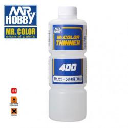 MR.color Thinner para Acrílicos. Bote 400 ml. Marca MR.Hobby. Ref: T104.